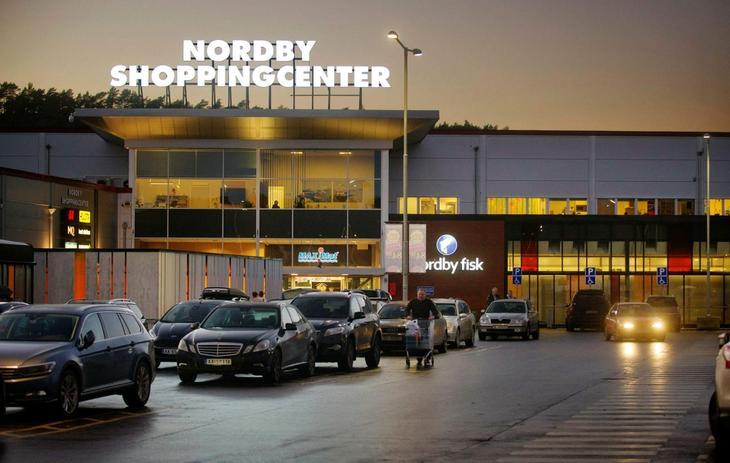 Bilde av Nordby shoppingsenter i Sverige
