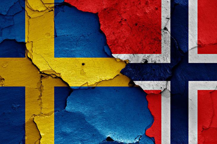svensknorsk flagg