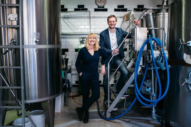 Pressekontakter Bryggeri- og drikkevareforeningen - Erlend Vagnild Fuglum og Hege Ramseng